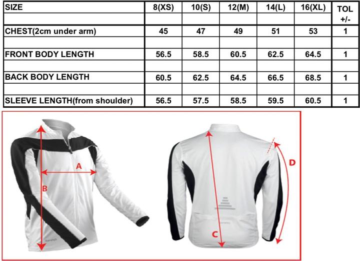 Ladies` Bikewear Long Sleeve Performance Top | Spiro