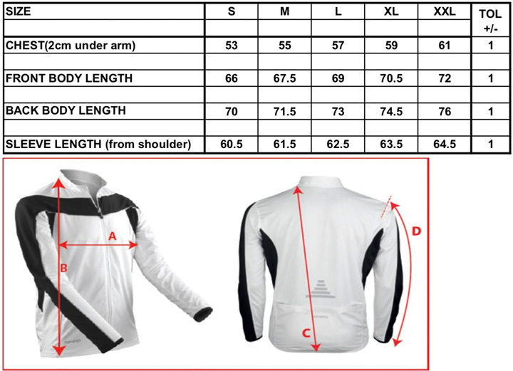 Men`s Bikewear Long Sleeve Performance Top | Spiro