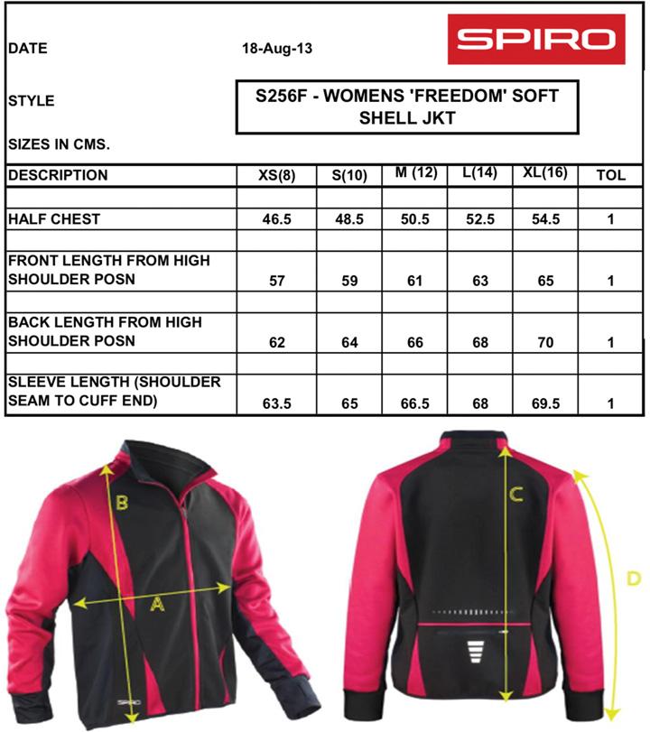 Damen Freedom Softshell Jacket | Spiro
