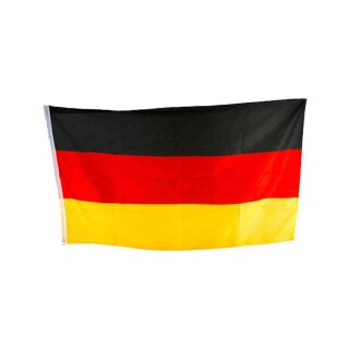 Flagge Deutschland 90x150cm mit Befestigungsösen