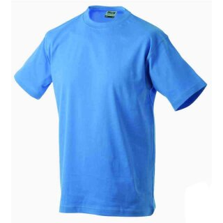 Basic T-Shirt S - 3XL | James & Nicholson aqua M