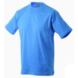 Basic T-Shirt S - 3XL | James & Nicholson aqua XXL