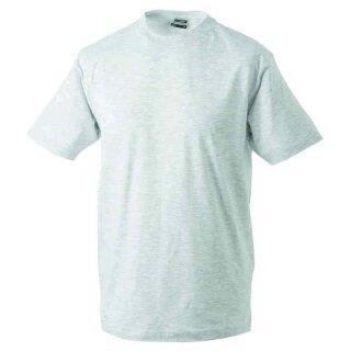 Basic T-Shirt S - 3XL | James & Nicholson ash XXL