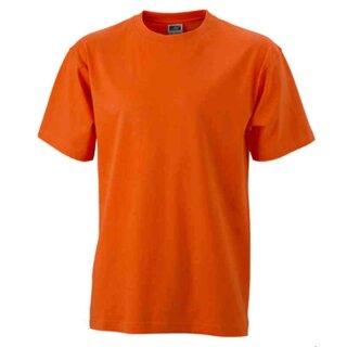 Basic T-Shirt S - 3XL | James & Nicholson dark-orange M