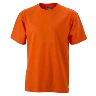 Basic T-Shirt S - 3XL | James & Nicholson dark-orange XXL