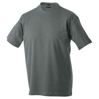 Basic T-Shirt S - 3XL | James & Nicholson dunkelgrau S