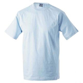 Basic T-Shirt S - 3XL | James & Nicholson hellblau XL