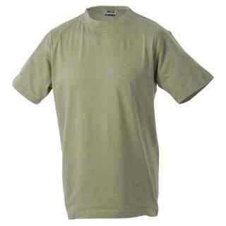Basic T-Shirt S - 3XL | James & Nicholson khaki XXL