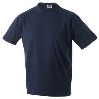 Basic T-Shirt S - 3XL | James & Nicholson navy XL