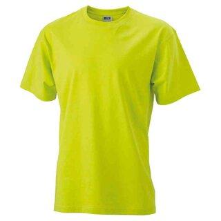 Basic T-Shirt S - 3XL | James & Nicholson neongelb L