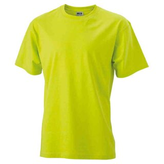 Basic T-Shirt S - 3XL | James & Nicholson neongelb XXL