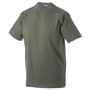 Basic T-Shirt S - 3XL | James & Nicholson olive XXL