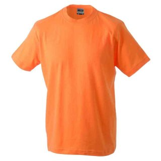 Basic T-Shirt S - 3XL | James & Nicholson orange XXL