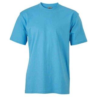 Basic T-Shirt S - 3XL | James & Nicholson sky-blue XXL