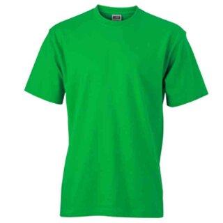 Basic T-Shirt S - 3XL | James & Nicholson farngrün 3XL