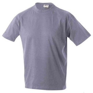 Basic T-Shirt S - 3XL | James & Nicholson flieder 3XL