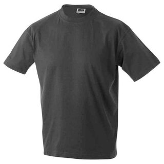 Basic T-Shirt S - 3XL | James & Nicholson graphit 3XL