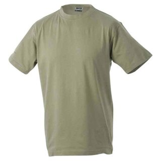 Basic T-Shirt S - 3XL | James & Nicholson khaki 3XL