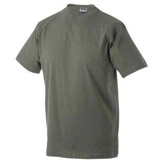 Basic T-Shirt S - 3XL | James & Nicholson olive 3XL