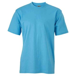Basic T-Shirt S - 3XL | James & Nicholson sky-blue 3XL