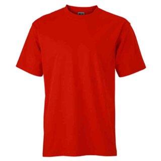 Basic T-Shirt S - 3XL | James & Nicholson tomate 3XL
