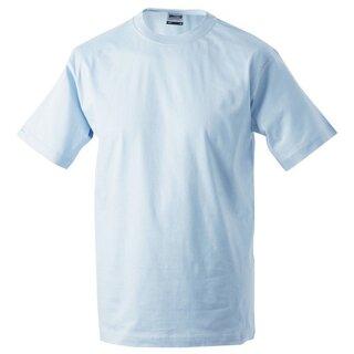 Kinder T-Shirt | James & Nicholson hellblau 122/128 (M)