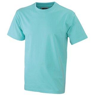 Kinder T-Shirt | James & Nicholson mint 110/116 (S)