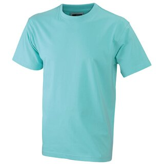 Kinder T-Shirt | James & Nicholson mint 134/140 (L)