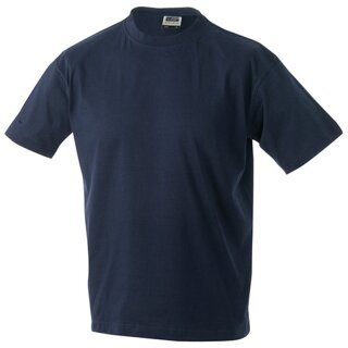 Kinder T-Shirt | James & Nicholson navy 110/116 (S)