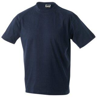 Kinder T-Shirt | James & Nicholson navy 134/140 (L)