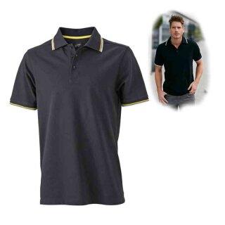 Herren Sommer Poloshirt - UV-Schutz | James & Nicholson
