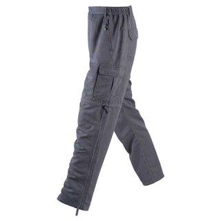 Herren Trekkinghose / Zip-Off 2in1 | James & Nicholson carbon L