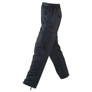 Herren Trekkinghose / Zip-Off 2in1 | James & Nicholson schwarz S