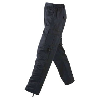 Herren Trekkinghose / Zip-Off 2in1 | James & Nicholson schwarz XL