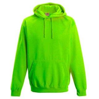 Neon Hoodie   Just Hoods neongrün XXL