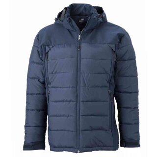 Wintersportjacke | James & Nicholson navy XXL