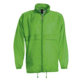Damen und Herren Regenjacke   B&C hellgrün XL