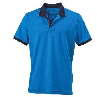 Urban Poloshirt | James & Nicholson azur/navy XL