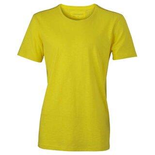 Urban T-Shirt | James & Nicholson gelb 3XL