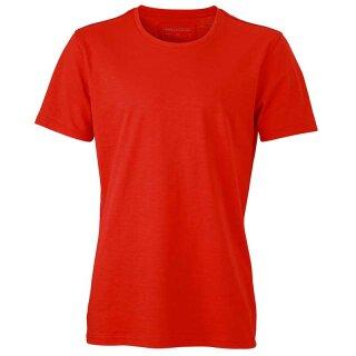 Urban T-Shirt | James & Nicholson tomate XXL