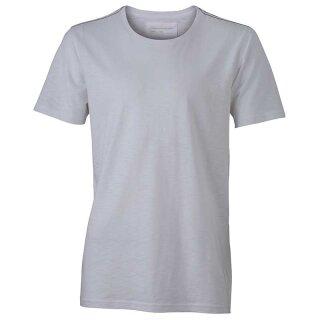 Urban T-Shirt | James & Nicholson weiß XL