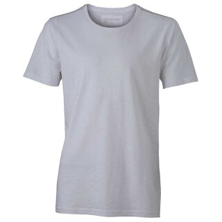 Urban T-Shirt | James & Nicholson weiß 3XL