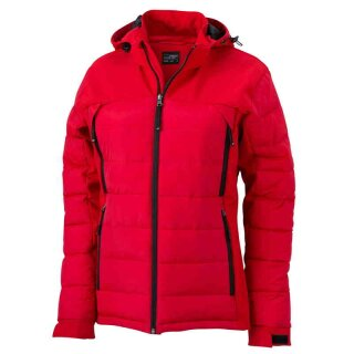 Damen Wintersportjacke | James & Nicholson rot XL