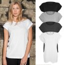 Damen Extended Shoulder T-Shirt   Build Your Brand