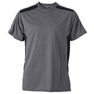 Work T-Shirt - STRONG - (carbon/black)   James & Nicholson