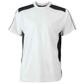 Work T-Shirt - STRONG - (white/carbon)   James & Nicholson