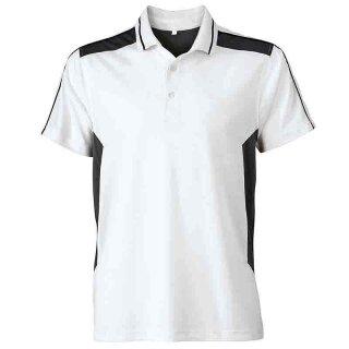 Work Poloshirt - STRONG - (white/carbon)   James & Nicholson