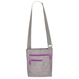Grey-Melange/Neon-Lilac