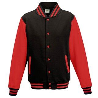 Jet Black/Fire Red