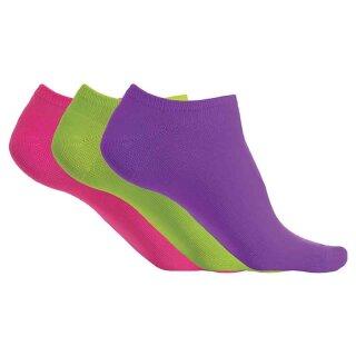 Bright Violet / Fluorescent Green / Fluorescent Pink